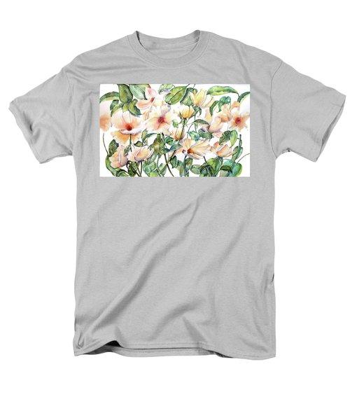 Bee Happy Men's T-Shirt  (Regular Fit) by Debbie Lewis