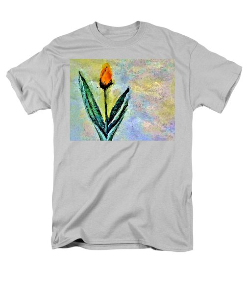 Men's T-Shirt  (Regular Fit) featuring the painting Being Single by Lisa Kaiser