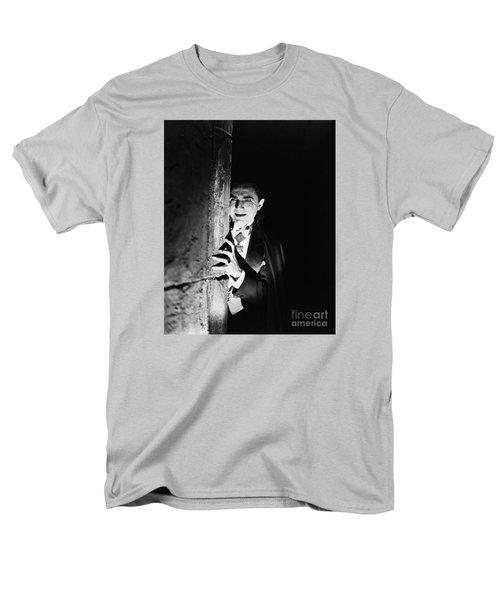 Bela Lugosi Dracula Men's T-Shirt  (Regular Fit) by R Muirhead Art
