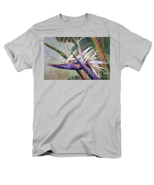 Betty's Bird - Bird Of Paradise Men's T-Shirt  (Regular Fit) by Roxanne Tobaison