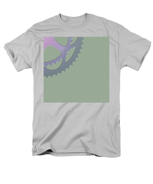 Bicycle Chain Ring - 4 Of 4 Men's T-Shirt  (Regular Fit) by Serge Averbukh