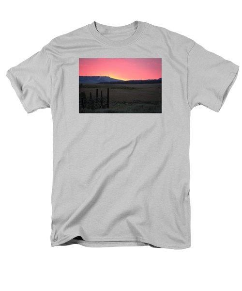 Big Horn Sunrise Men's T-Shirt  (Regular Fit) by Diane Bohna