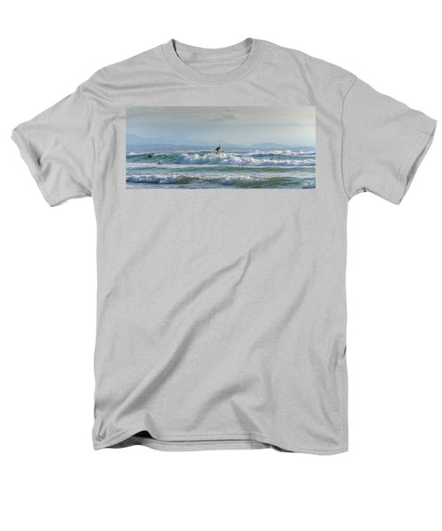 Men's T-Shirt  (Regular Fit) featuring the photograph Big Surf Invitational I by Thierry Bouriat