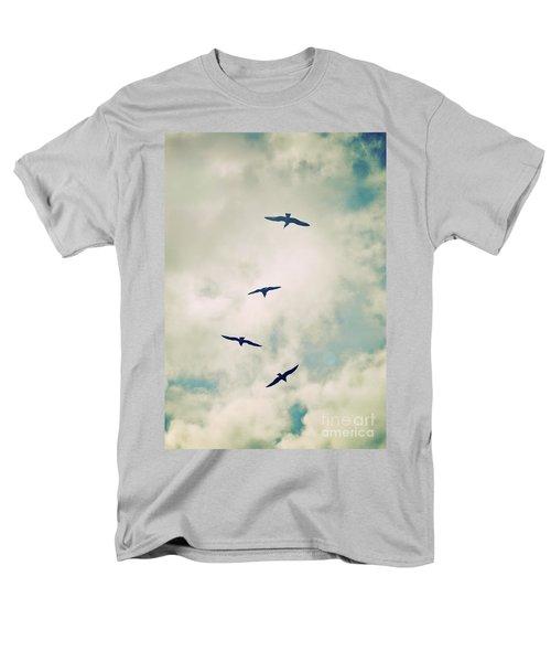 Men's T-Shirt  (Regular Fit) featuring the photograph Bird Dance by Lyn Randle
