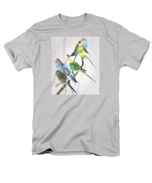 Birds Of A Feather Men's T-Shirt  (Regular Fit) by Robin Regan