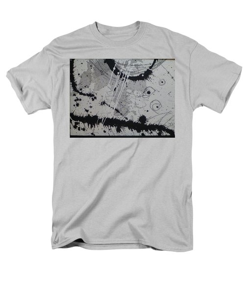 Black And White Four Men's T-Shirt  (Regular Fit) by Tracy Bonin