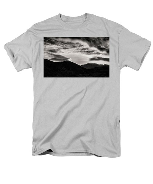 Men's T-Shirt  (Regular Fit) featuring the photograph Black And White Sunrise by Joseph Hollingsworth