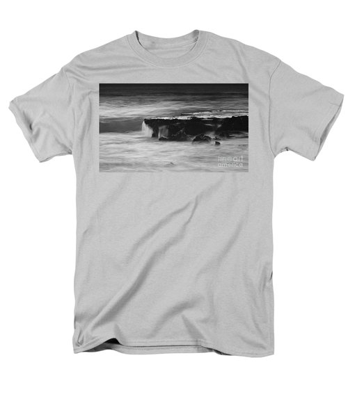 Black Rock Men's T-Shirt  (Regular Fit) by Kym Clarke