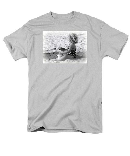 Blond Beach Baby Men's T-Shirt  (Regular Fit) by Lori Seaman