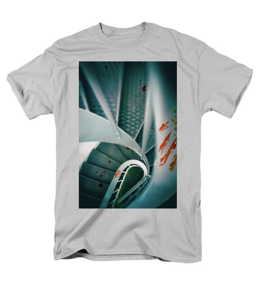 Men's T-Shirt  (Regular Fit) featuring the photograph Bloody Stairway by Carlos Caetano