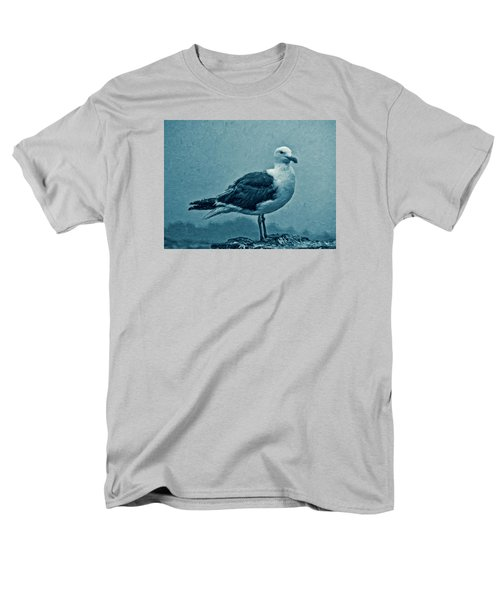 Blue Gull Men's T-Shirt  (Regular Fit)
