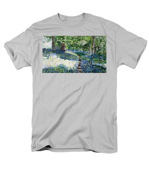 Bluebell Forest Men's T-Shirt  (Regular Fit) by Joanne Perkins