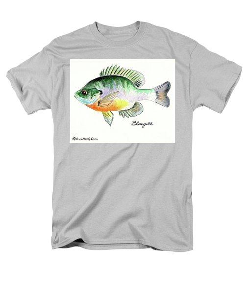 Bluegill Fish Men's T-Shirt  (Regular Fit) by LeAnne Sowa