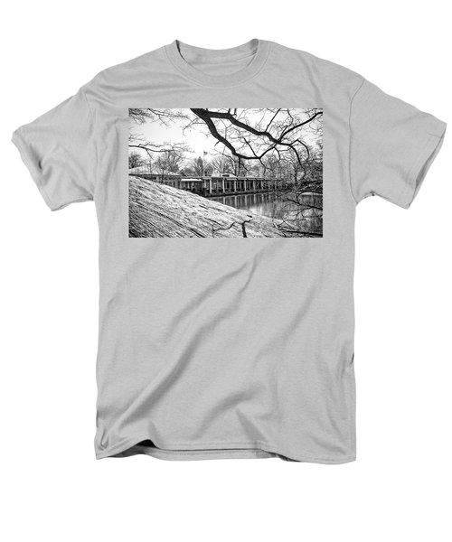 Boathouse Central Park Men's T-Shirt  (Regular Fit) by Alan Raasch