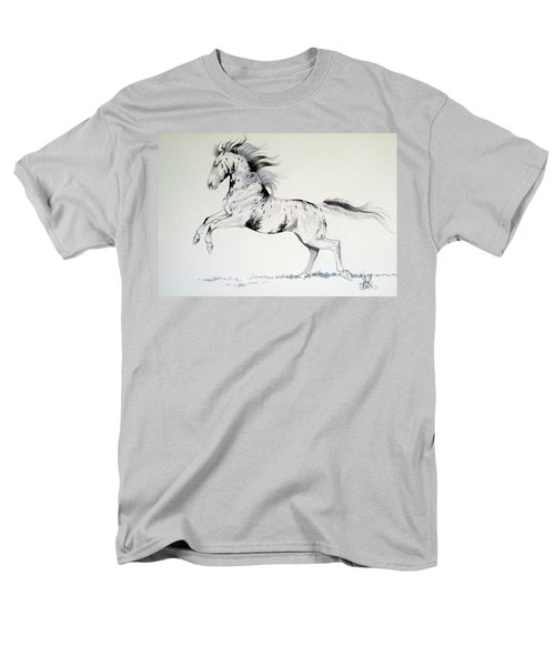 Loud Appaloosa Men's T-Shirt  (Regular Fit) by Cheryl Poland