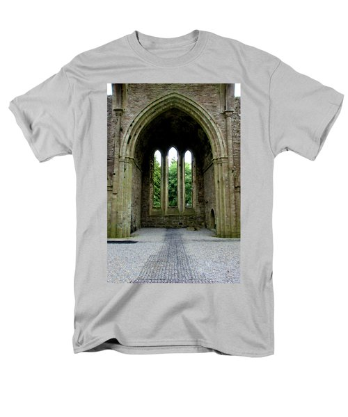 Men's T-Shirt  (Regular Fit) featuring the photograph Boyle Abbey In Ireland 2 by Michelle Joseph-Long