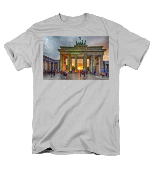 Brandenburg Gate Men's T-Shirt  (Regular Fit) by Pravine Chester