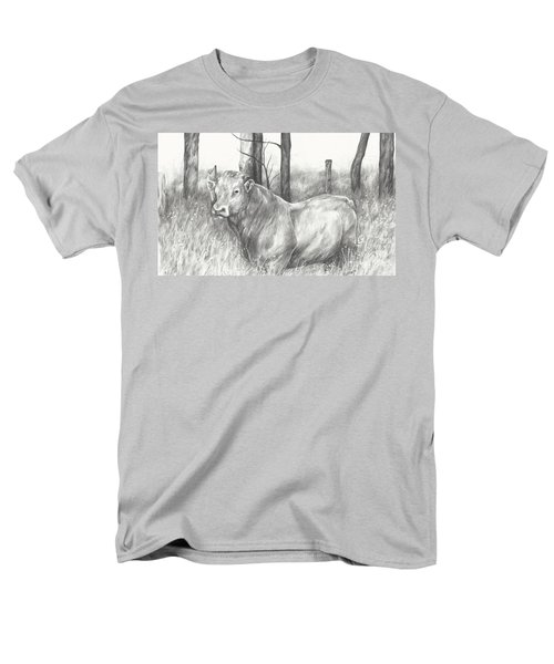 Men's T-Shirt  (Regular Fit) featuring the drawing Breaker Study by Meagan  Visser