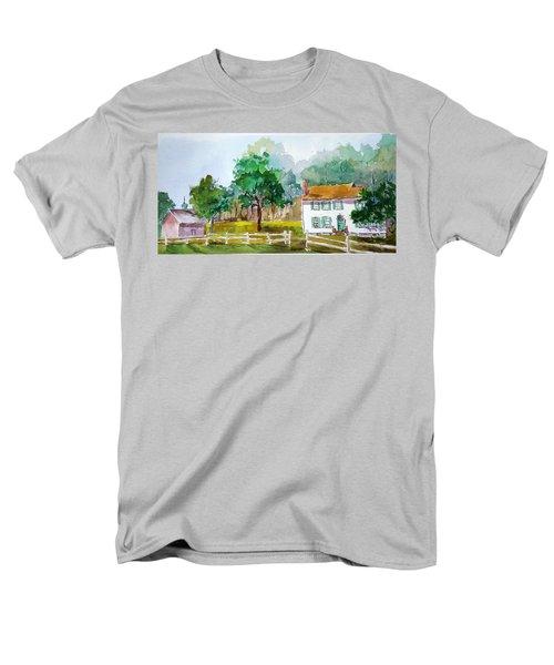 Brecknock Park Men's T-Shirt  (Regular Fit) by Larry Hamilton