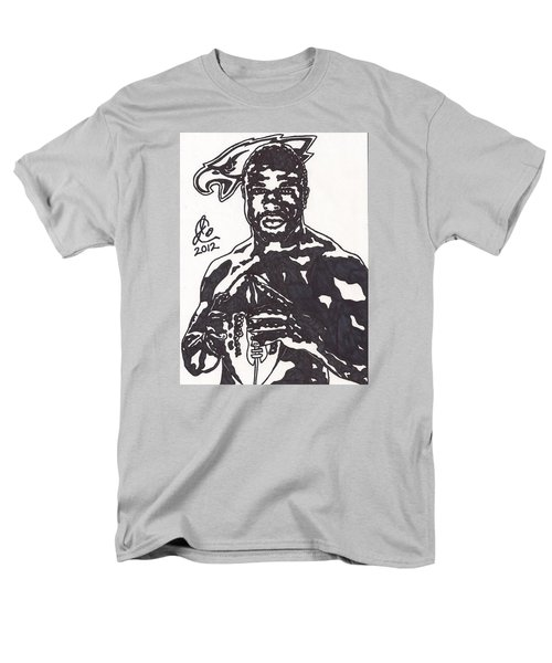 Men's T-Shirt  (Regular Fit) featuring the drawing Brian Westbrook by Jeremiah Colley
