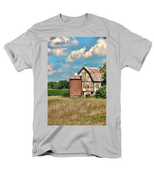 Brick Silo Men's T-Shirt  (Regular Fit) by Trey Foerster