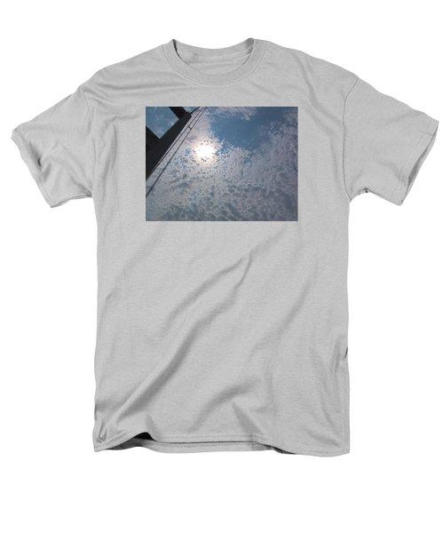 Bridge Meet Sky Men's T-Shirt  (Regular Fit) by John Rossman