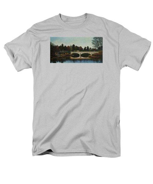 Bridges Of Forest Park Iv Men's T-Shirt  (Regular Fit) by Michael Frank