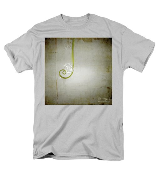 Men's T-Shirt  (Regular Fit) featuring the digital art Bubbling - 02tt04a by Variance Collections