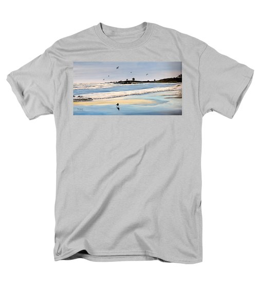 Bull Beach Men's T-Shirt  (Regular Fit)
