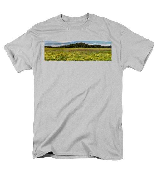 Men's T-Shirt  (Regular Fit) featuring the photograph Bull Prairie by Leland D Howard