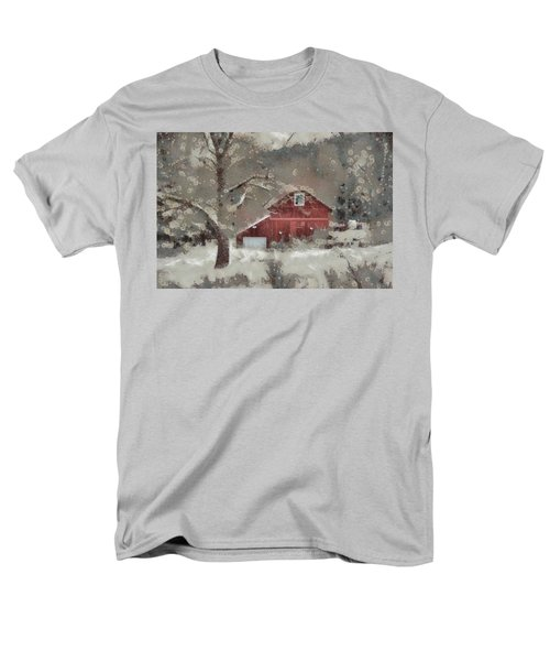 Men's T-Shirt  (Regular Fit) featuring the mixed media Butter Lane by Trish Tritz