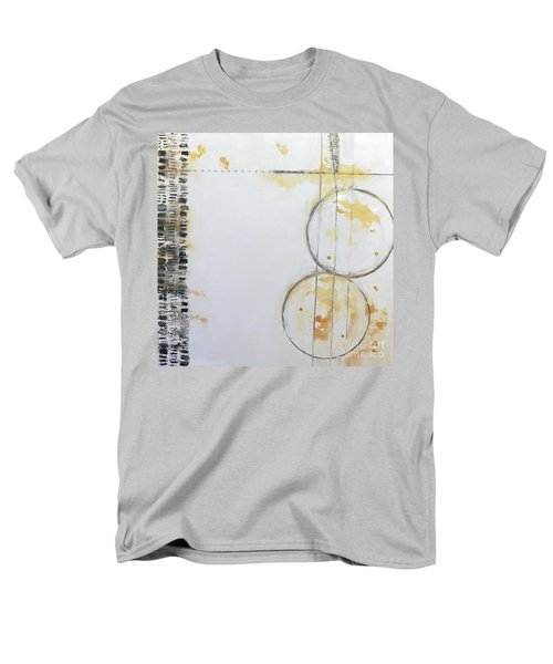 Butterfly Tracks Men's T-Shirt  (Regular Fit) by Gallery Messina