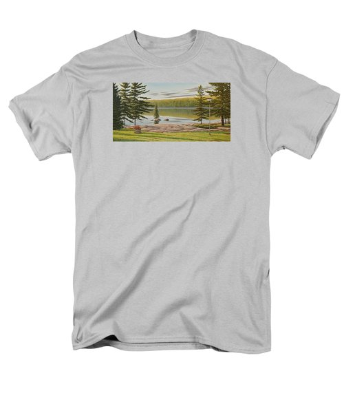 By The Lakeside Men's T-Shirt  (Regular Fit)