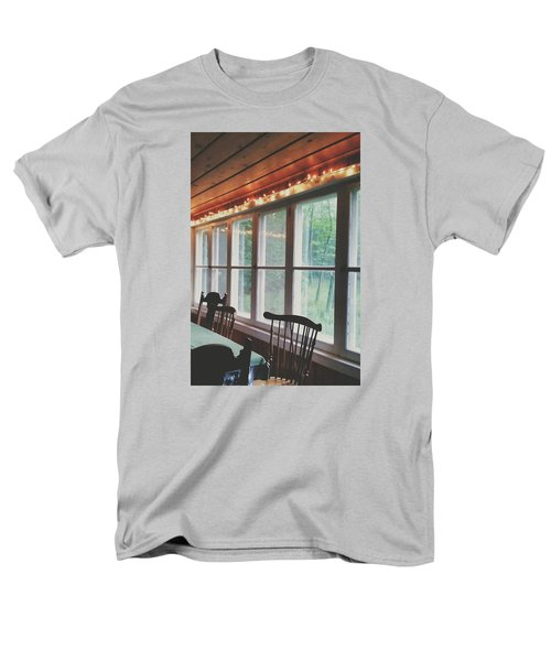 Men's T-Shirt  (Regular Fit) featuring the photograph Cabin In The Woods by Nikki McInnes