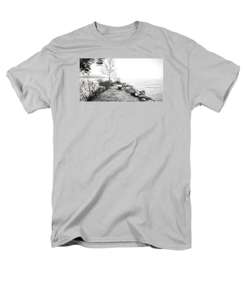 Camp Of The Woods, Ny Men's T-Shirt  (Regular Fit) by Rena Trepanier