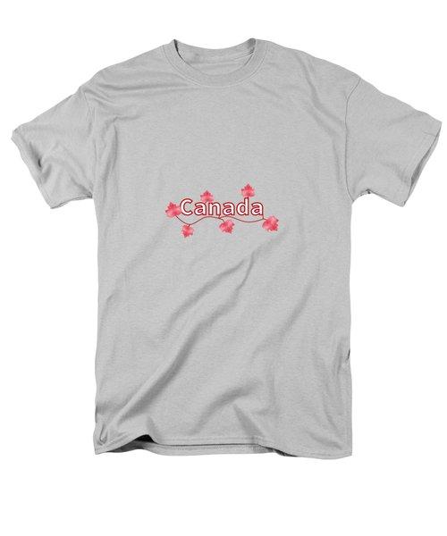 Canada Maple Leaf Men's T-Shirt  (Regular Fit) by Kathleen Sartoris