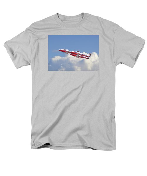 Men's T-Shirt  (Regular Fit) featuring the photograph Canadian Air Force Aerobatic Team - Snowbirds by Pat Speirs