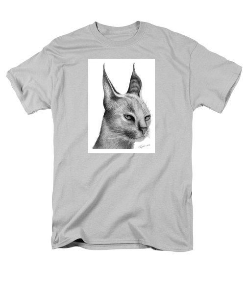 Caracal Men's T-Shirt  (Regular Fit) by Lawrence Tripoli