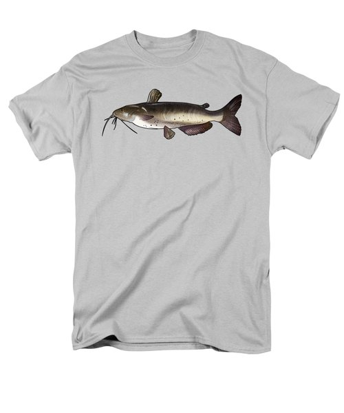 Catfish Drawing Men's T-Shirt  (Regular Fit) by A C
