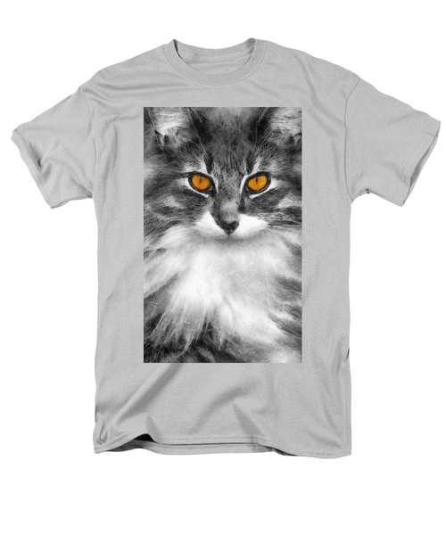 Cats Eyes Men's T-Shirt  (Regular Fit) by Ian Mitchell
