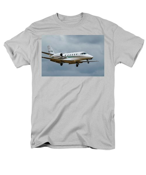 Cessna Citation X Landing Men's T-Shirt  (Regular Fit) by James David Phenicie
