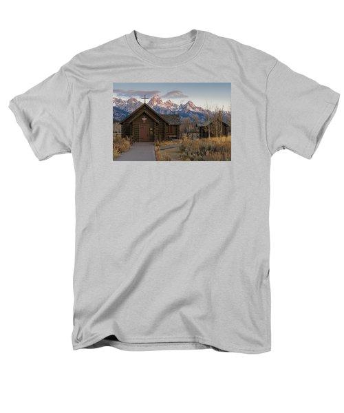 Chapel Of The Transfiguration - II Men's T-Shirt  (Regular Fit) by Gary Lengyel