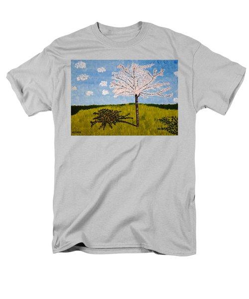 Cherry Blossom Tree Men's T-Shirt  (Regular Fit)