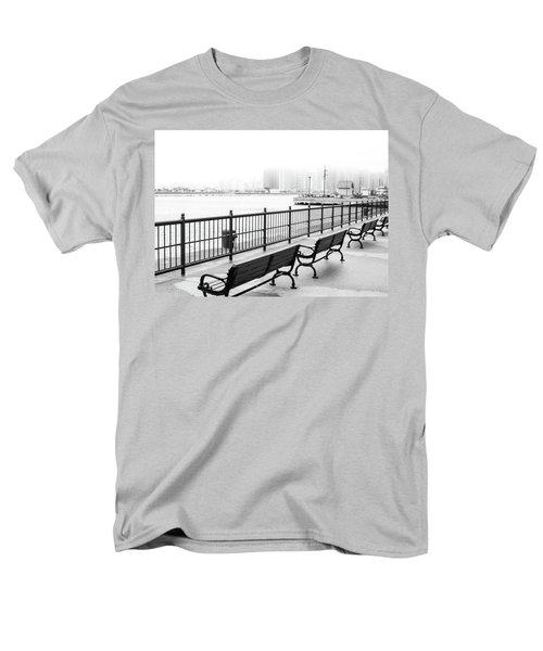 Chicago Navy Pier Men's T-Shirt  (Regular Fit) by Dawn Romine