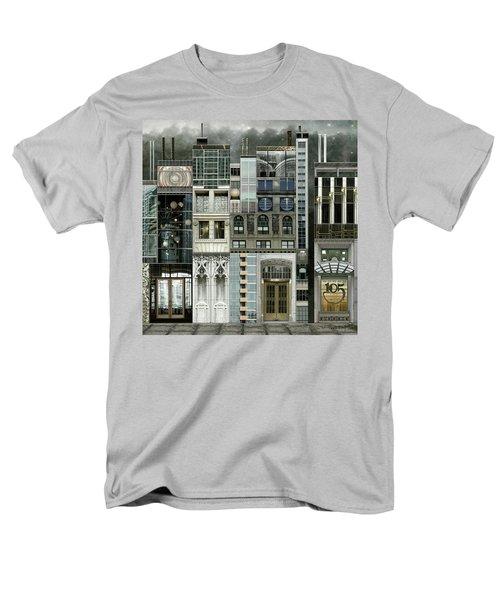 Chicago Reconstruction 1 Men's T-Shirt  (Regular Fit) by Joan Ladendorf