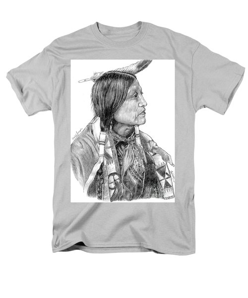 Chief Joseph Of Nes Perce Men's T-Shirt  (Regular Fit) by Bill Hubbard