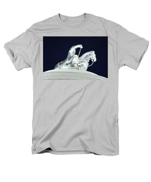 Chinggis Khan/tsagaan Sar Men's T-Shirt  (Regular Fit) by Diane Height