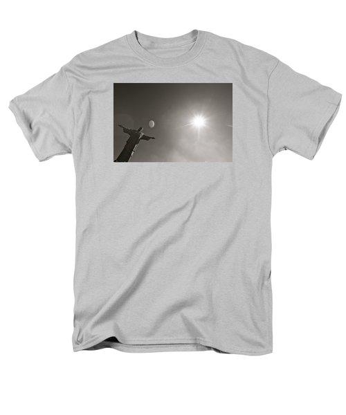 Christ The Redeemer Men's T-Shirt  (Regular Fit) by Mark Nowoslawski