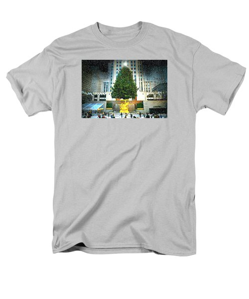 Christmas Tree 2015 Men's T-Shirt  (Regular Fit) by Diana Angstadt