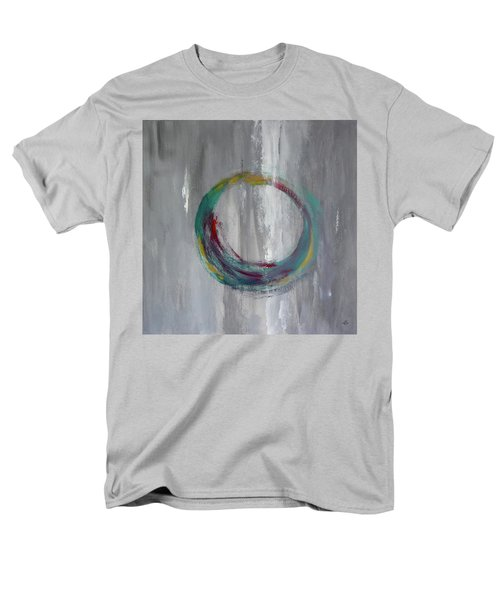 Men's T-Shirt  (Regular Fit) featuring the painting Vortex by Victoria Lakes